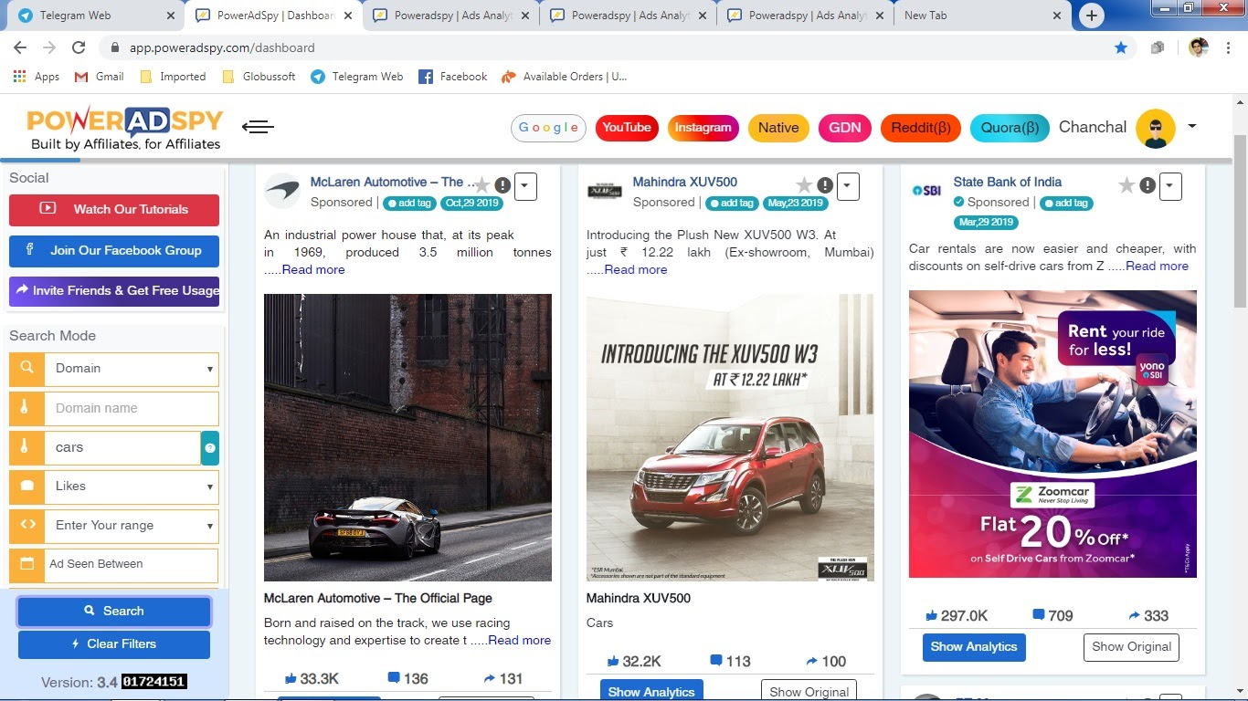 poweradspy-ad-search